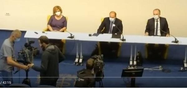 Novinarska konferenca - Ceplenje proti covod-19 brez naročanja