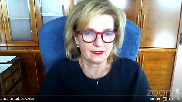 Bojana Beović Javni posvet o cepljenju proti covid-19