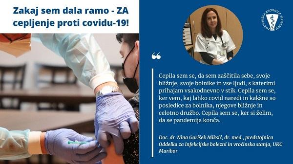 Nina Gorišek Miksić - spletna stran